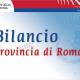 Bilancio della Provincia di Roma